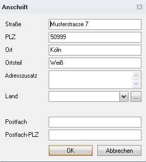 Adressen Flowfact Performer Serviceportal